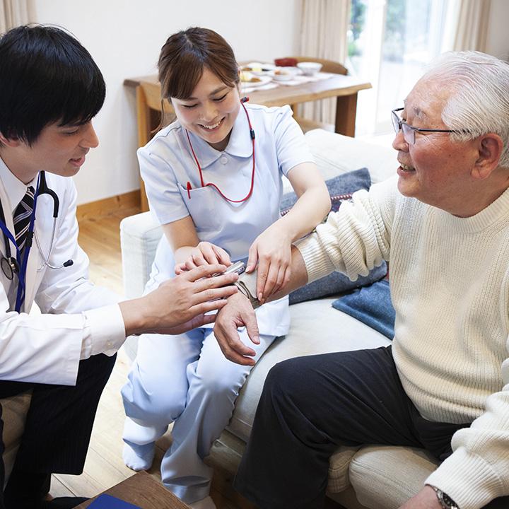 訪問看護の需要が増加